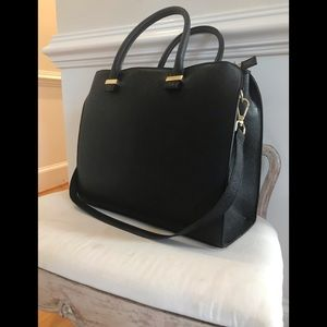 H&M huge black tote purse
